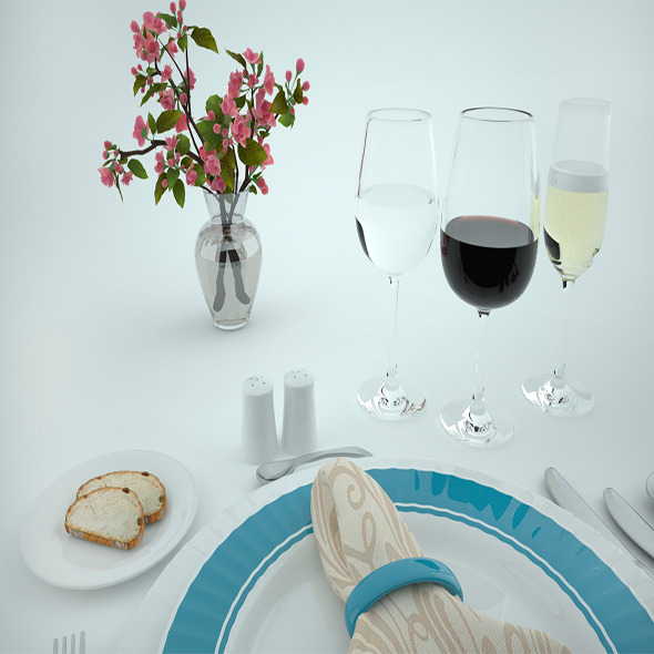 Tableware - 3DOcean Item for Sale