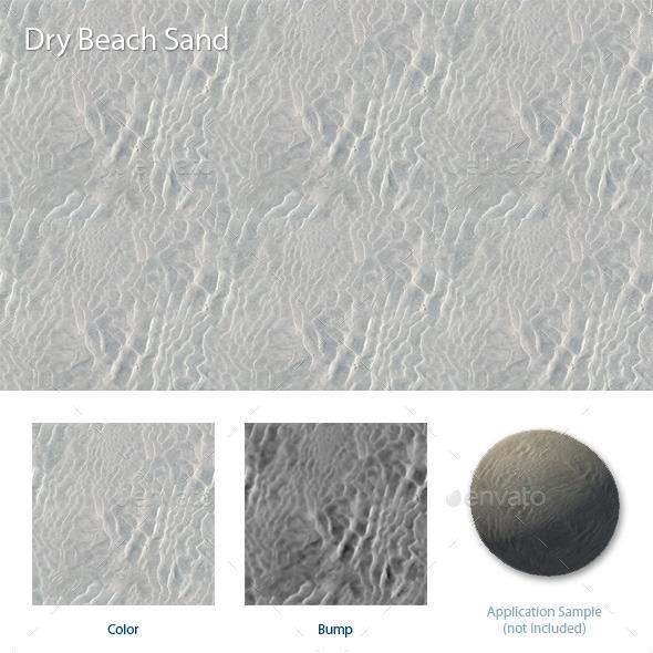 Dry Beach Sand - 3DOcean Item for Sale