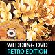 Retro Wedding DVD Cover Template & Disc Artwork