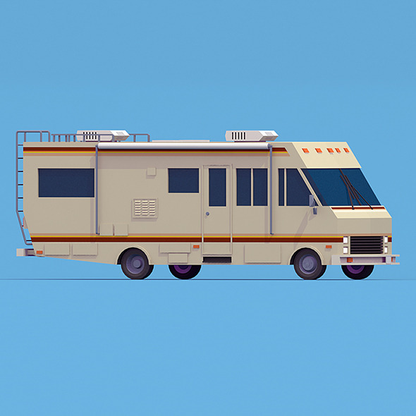 RV Breaking Bad  - 3DOcean Item for Sale