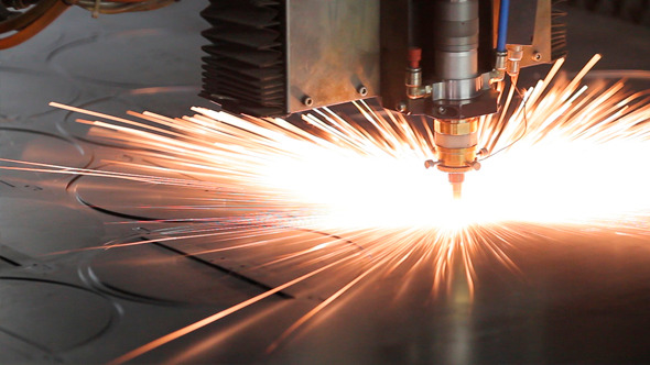 VideoHive Laser Cutting of Metal 12152798