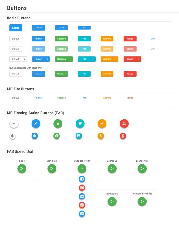 BMD - Bootstrap + Material Design - 1