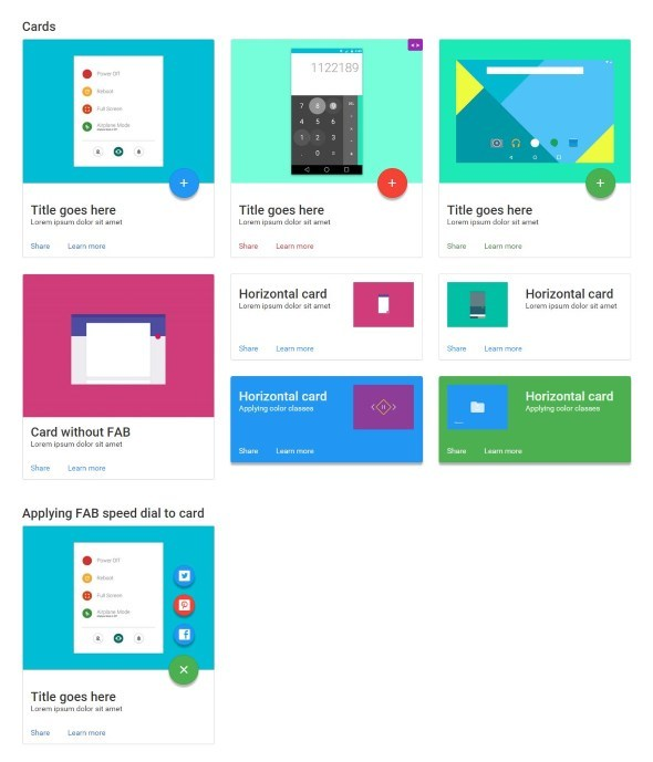 Bmd Bootstrap Material Design By Ray Design Codecanyon