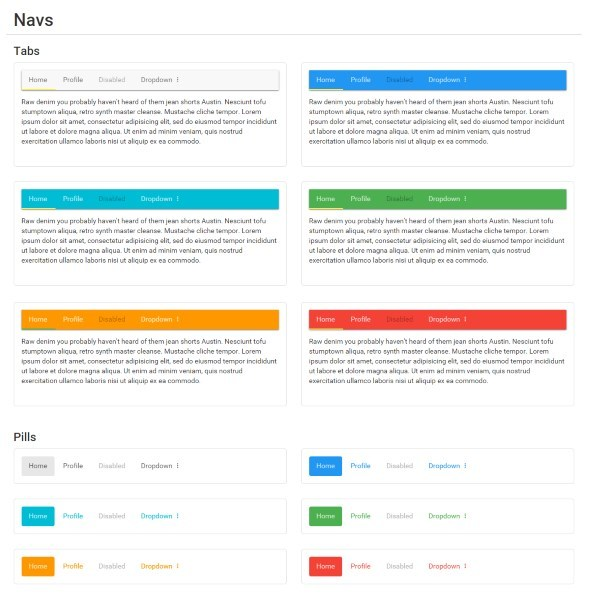 BMD - Bootstrap + Material Design - 8