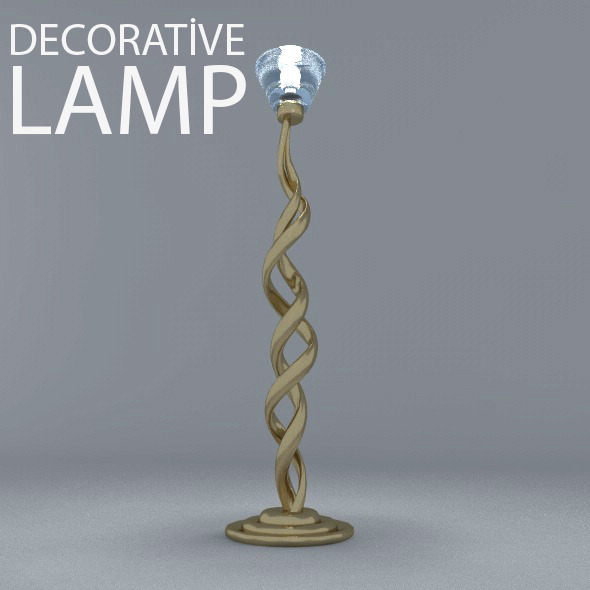 Decorative Lamp - 3DOcean Item for Sale