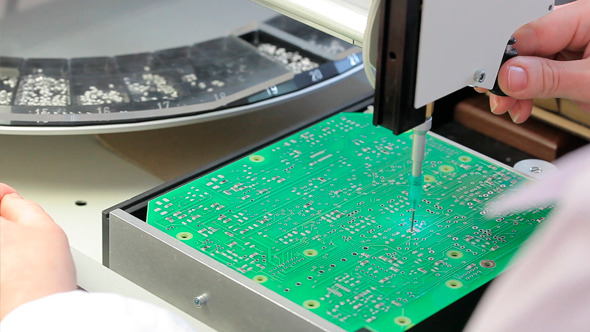 VideoHive Manufacture of Electrical Boards 12153922
