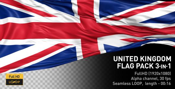 United Kingdom Flag Pack