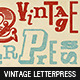 22 Vintage Letterpress Photoshop Actions - GraphicRiver Item for Sale