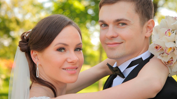 VideoHive Smiling Newlyweds 12154711