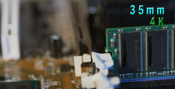 VideoHive Computer Motherboard Ram 12155108