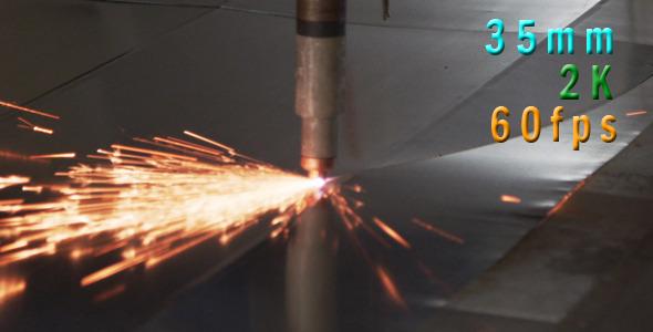 VideoHive Plasma Cutter 01 12155199