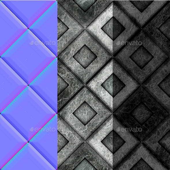 Marble Mosaic Floor Tileable Game Texture
