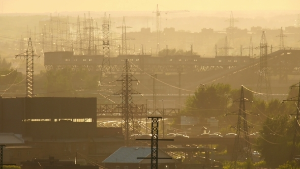 VideoHive Industrial Landscape 12156207
