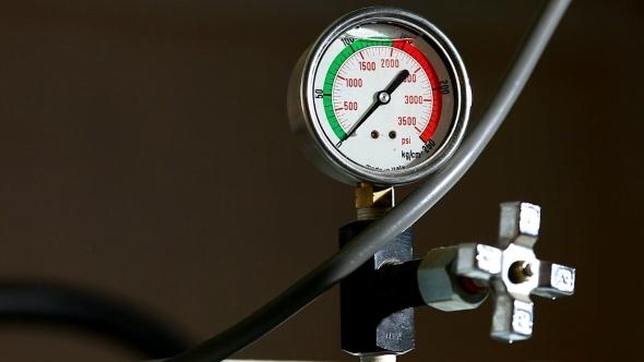 VideoHive Industrial Pressure Barometer Loop At Work 12157791