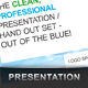 Clean, Modern Presentation / Handout Set - GraphicRiver Item for Sale