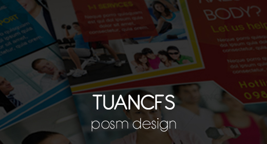 POSM (flyer, banner, proposal, company profile and more)