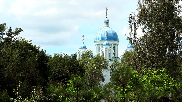 VideoHive The Domes of the Orthodox Church 12160152