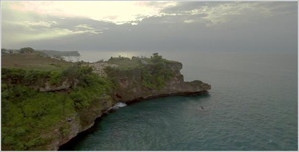 VideoHive Ocean Beach Aerial 96 12160500