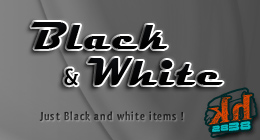 Black & White items