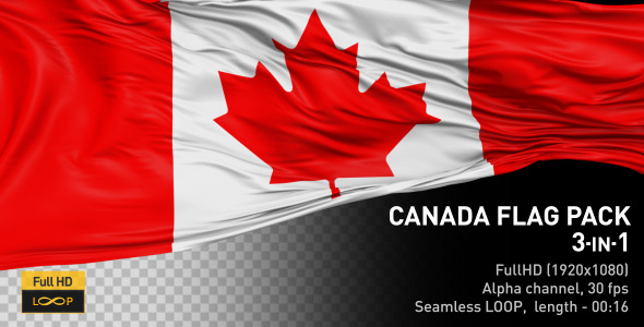 Canada Flag Pack