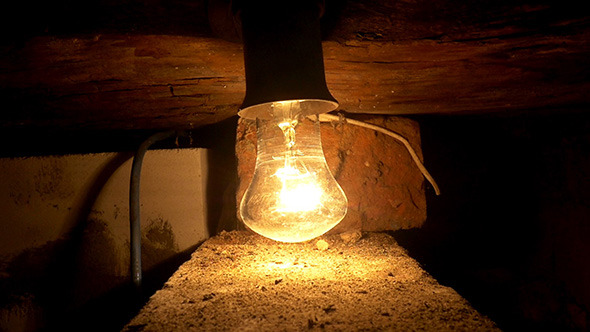 VideoHive Swinging Bulb 12165004