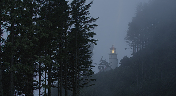 VideoHive Lighthouse In Fog 12165025