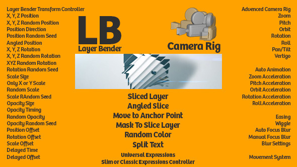 VideoHive Layer Bender & Camera Rig 12165505