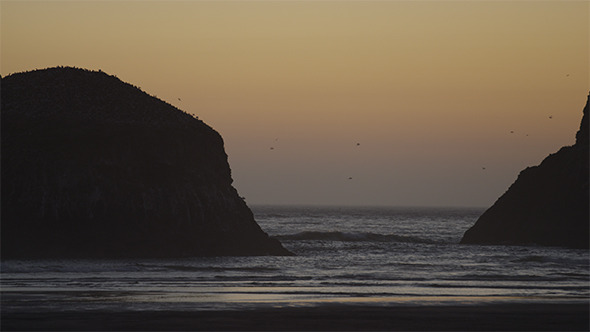 VideoHive Oregon Coast Sunset 12165711