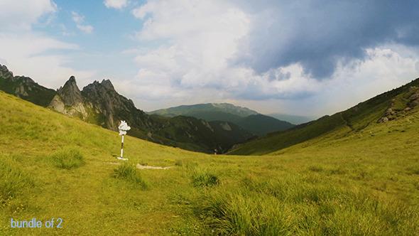 VideoHive Mountain Landscape 12165906