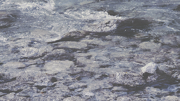 VideoHive Water Flowing and Rocks 12166072