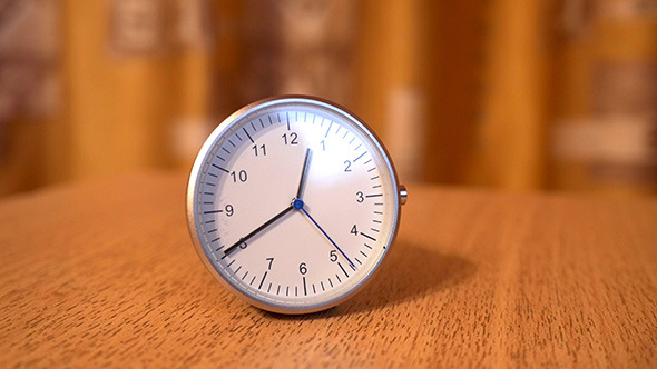 VideoHive Wrist Watch on a Table 12166077