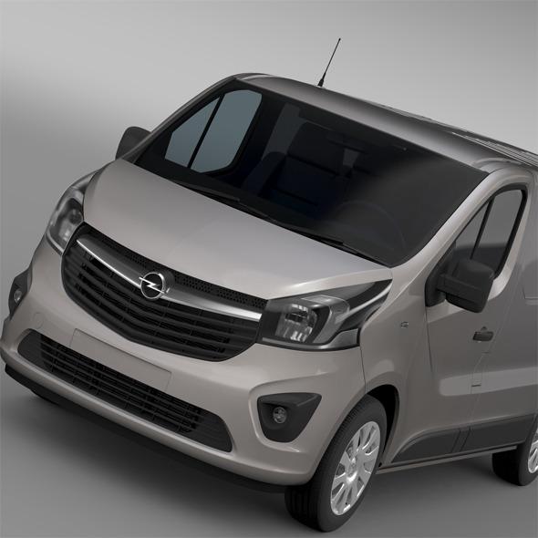 3DOcean Opel Vivaro Van 2015 12166155
