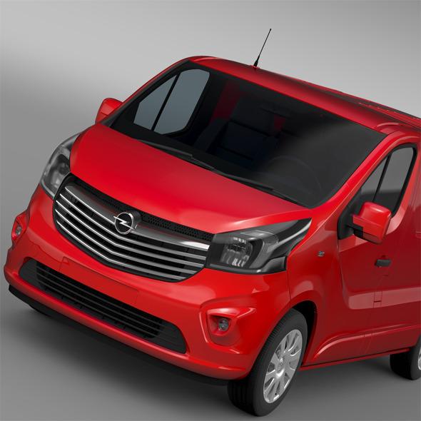 3DOcean Opel Vivaro Van Biturbo 2015 12166185
