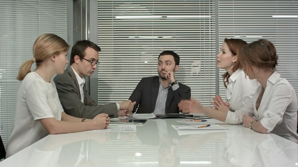 VideoHive Young Business People Group Have Meeting At 12166197
