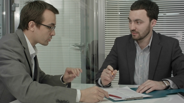 VideoHive Business People Consulting From New Project 12166213