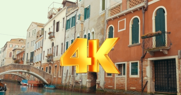 VideoHive Old Architecture And Canals Of Venice Italy 12166256