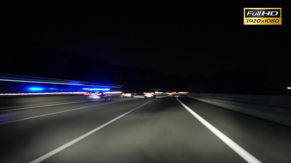 VideoHive Motorway Rage Camera Car High Speed 12167149