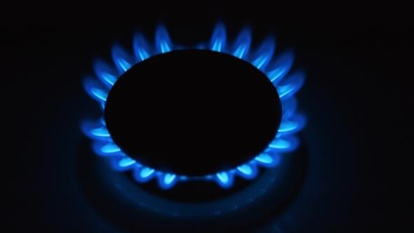 VideoHive Burning Blue Gas 12169976