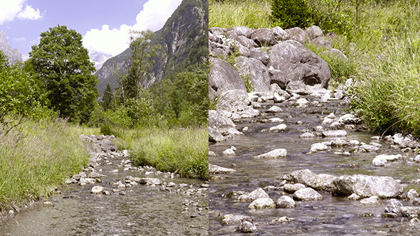 VideoHive Mountains and River 12171014