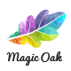 Leaf Oak Logo Template