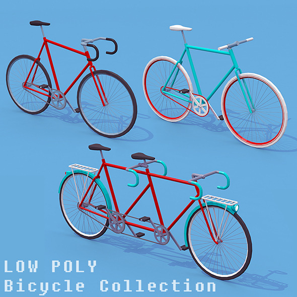 Bicycle Collection - 3DOcean Item for Sale