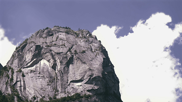 VideoHive Rocky Peak and Fast Clouds 12171619
