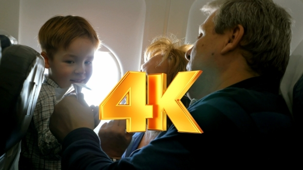 VideoHive Grandparents And Little Grandson Traveling 12171733