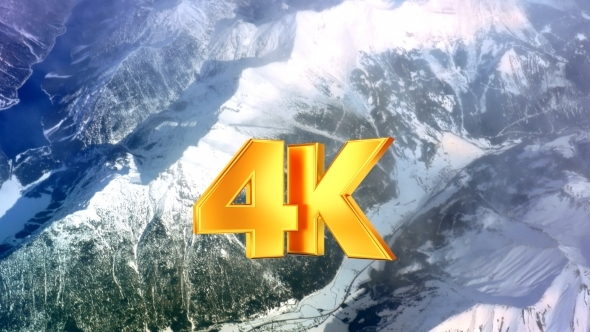 VideoHive Picturesque View To The Mountains From Plane 12171776