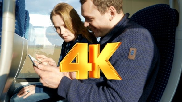 VideoHive They Have Enjoyable Time With Touch Pad In The 12171887
