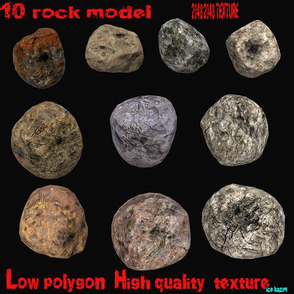 3DOcean Rocks 12173545
