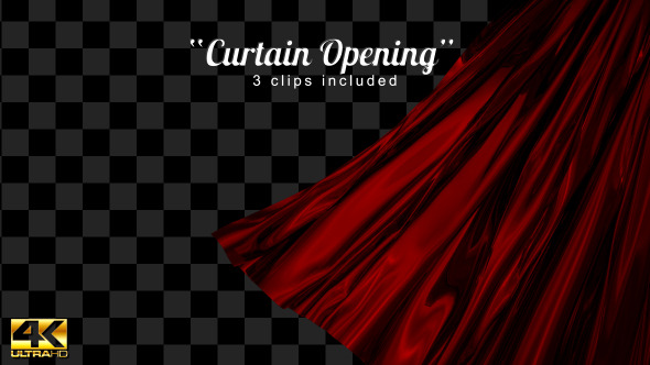 VideoHive Curtain Opening 12173757