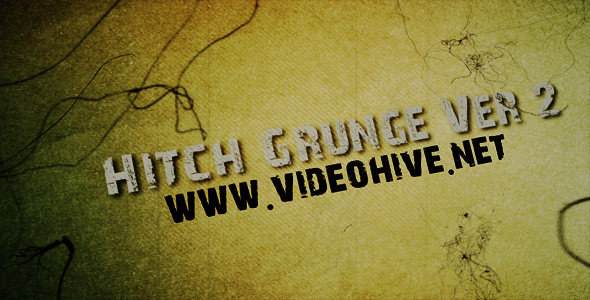 After Effects Project - VideoHive Hitch Grunge Ver 2 148366