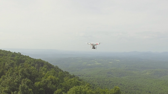 VideoHive Aerial Shot of Small UAV Drone 12173950