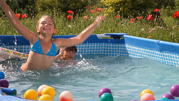 VideoHive Happy Swimming 12175287